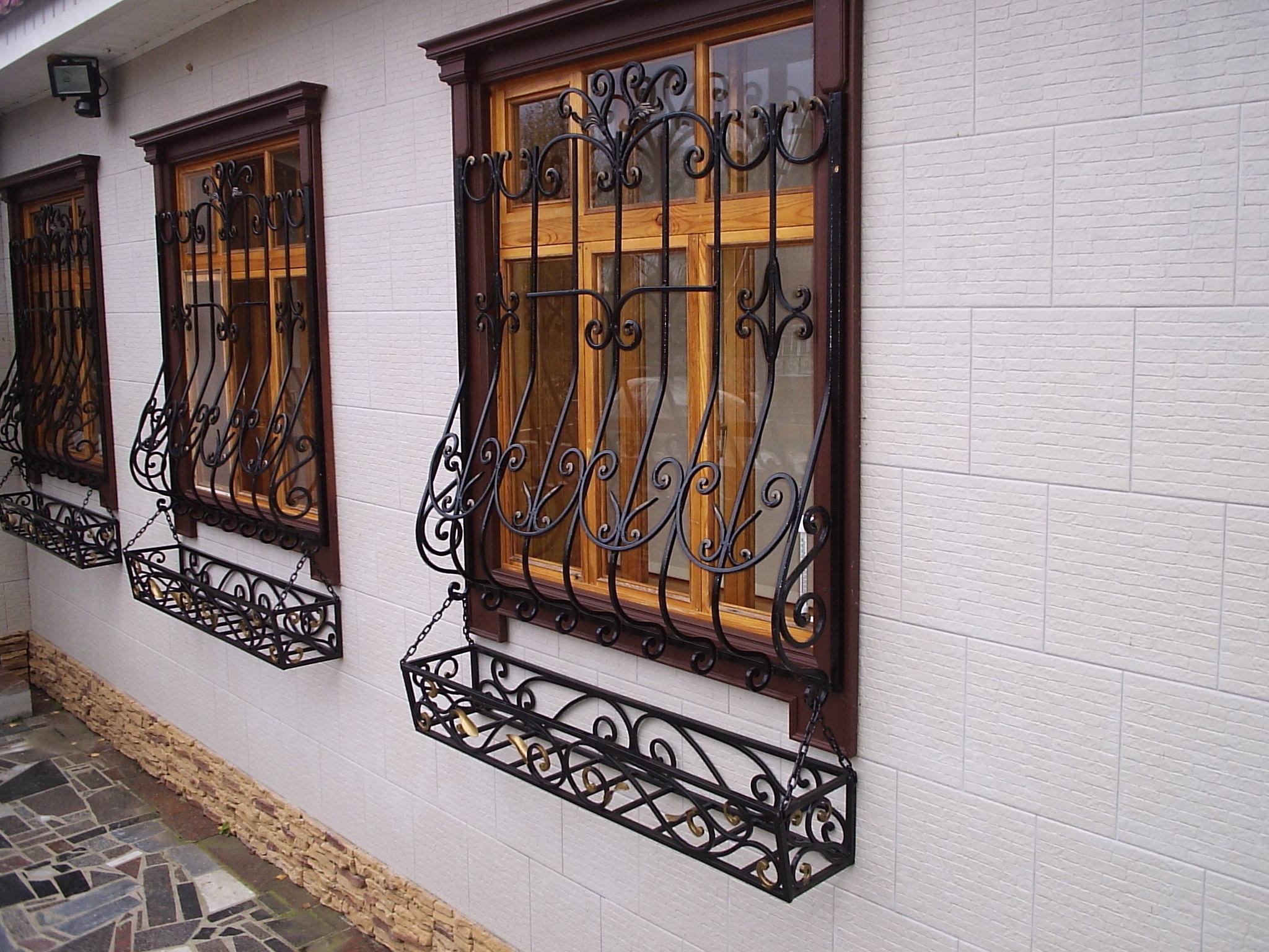 Кованые решетки на окна: цена, фото, описание - брянск - гар.
