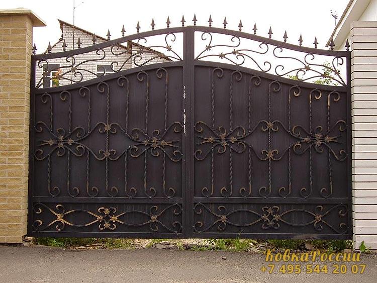 кованые ворота 017