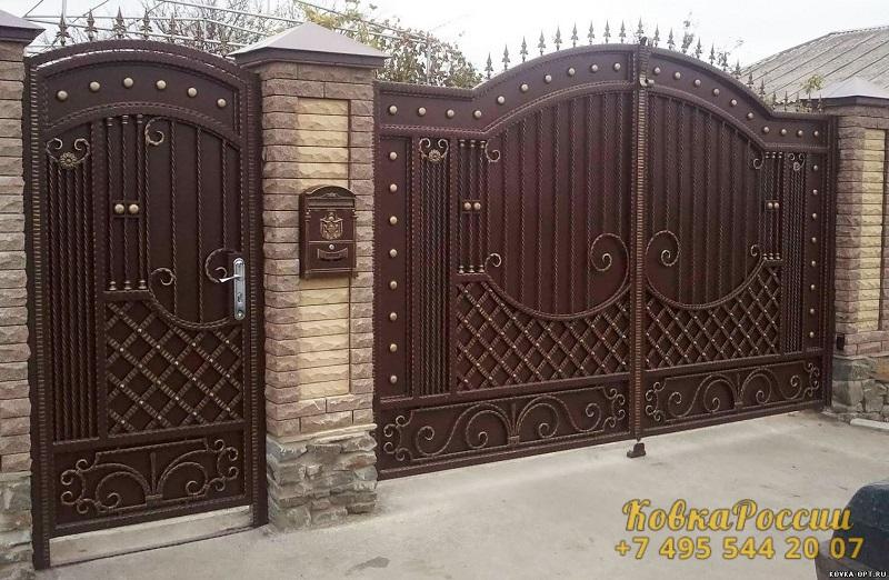 кованые ворота 005