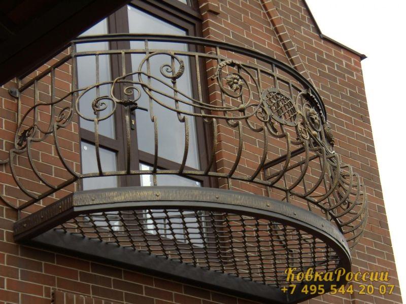 кованые балконы 002