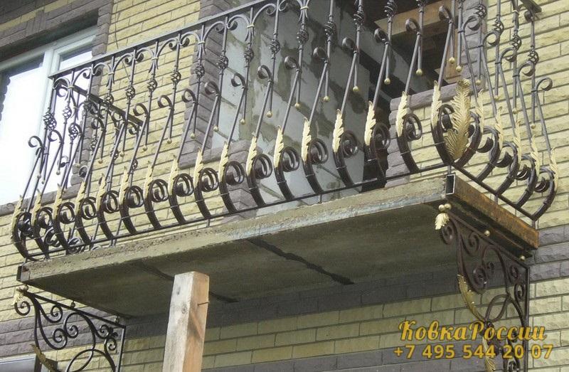 кованые балконы 037