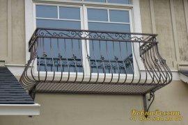 кованые балконы 028