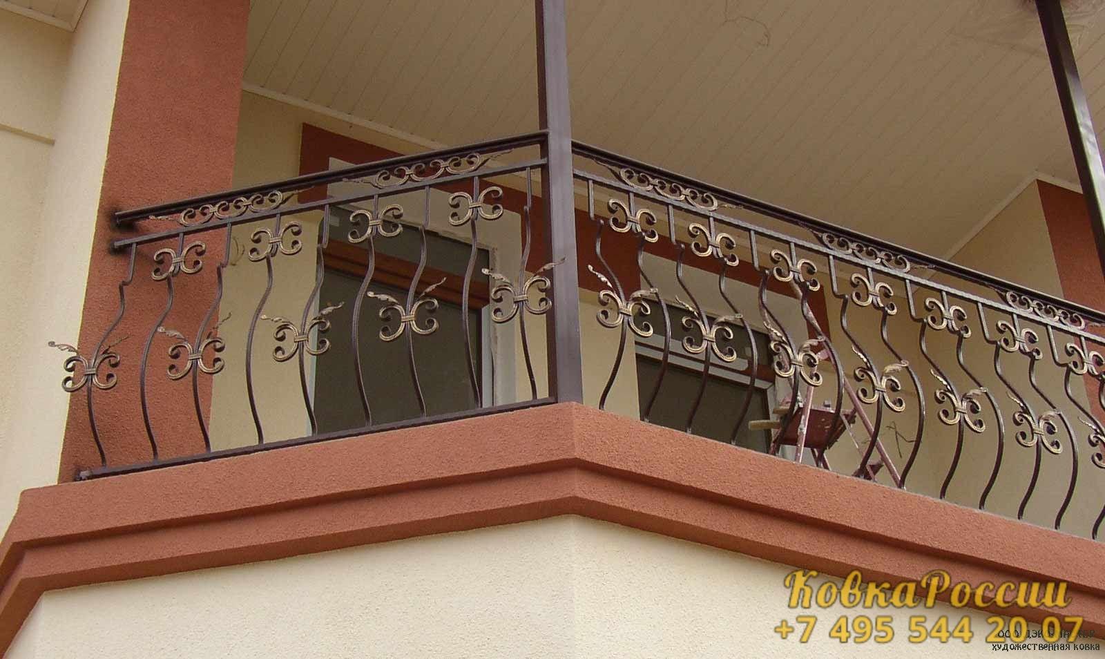 кованые балконы 20