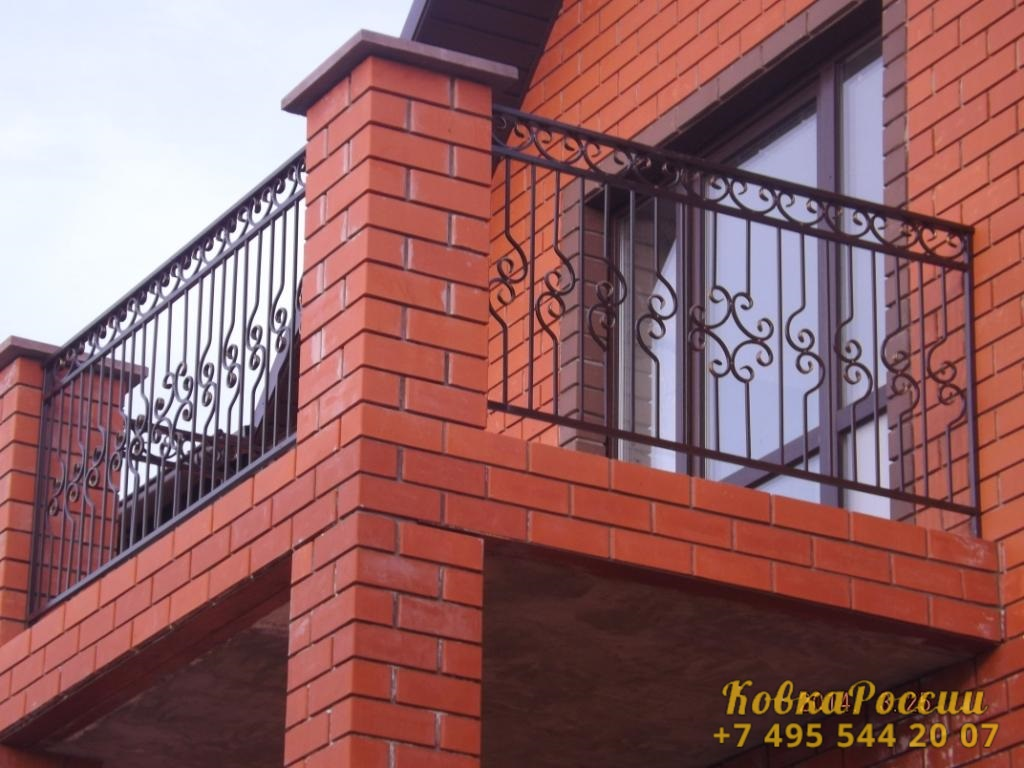 кованые балконы 019
