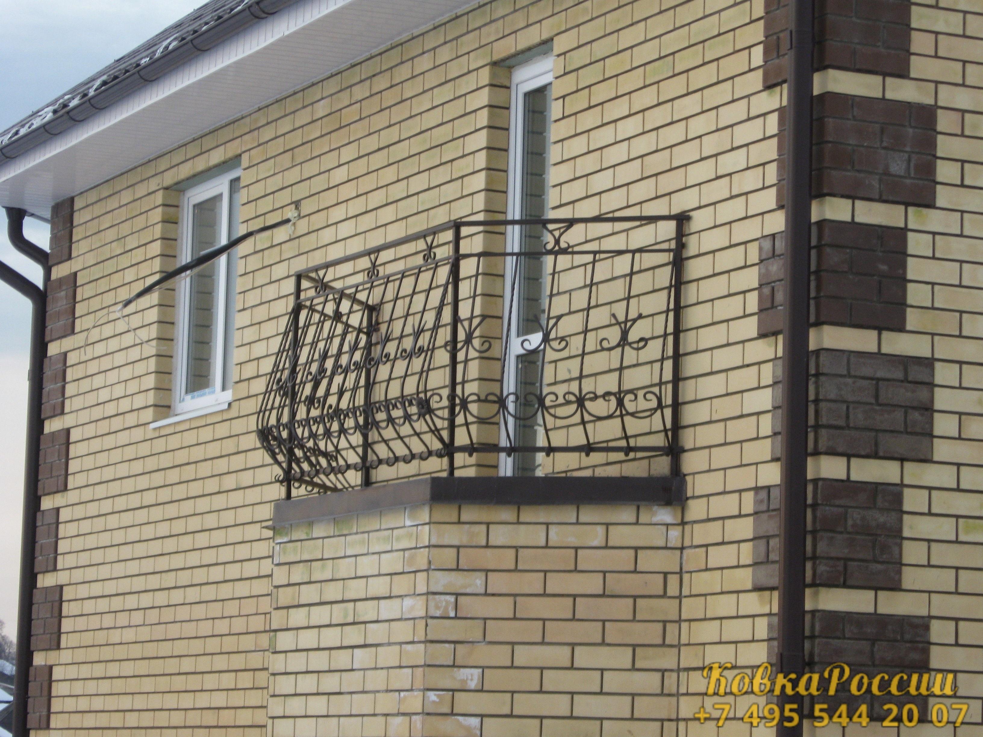 кованые балконы 015