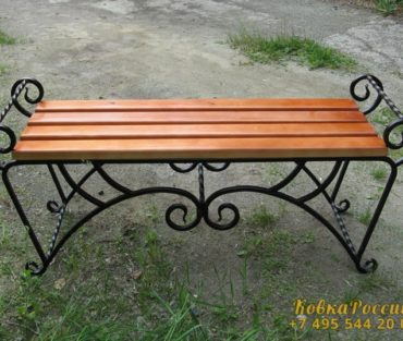 Кованная мебель 028
