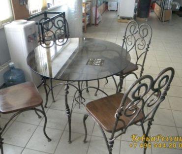Кованная мебель 025