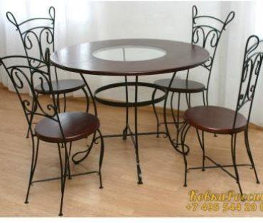 Кованная мебель 022