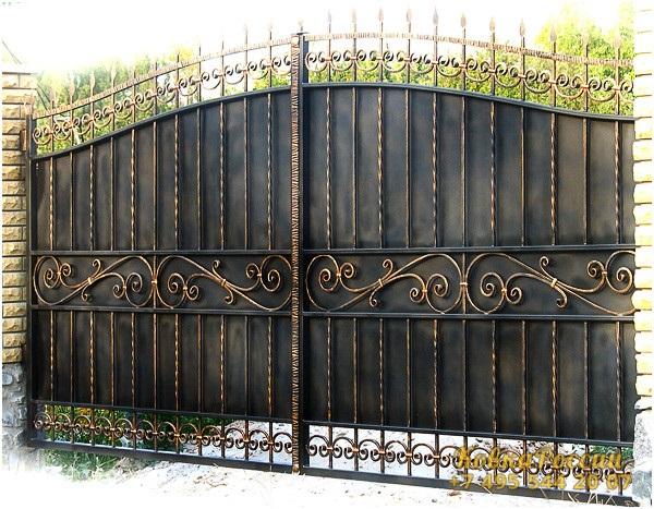 кованые ворота 010