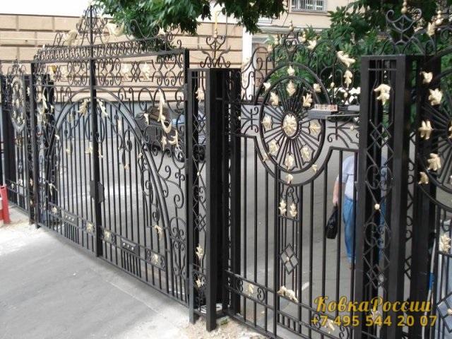 кованые ворота 006