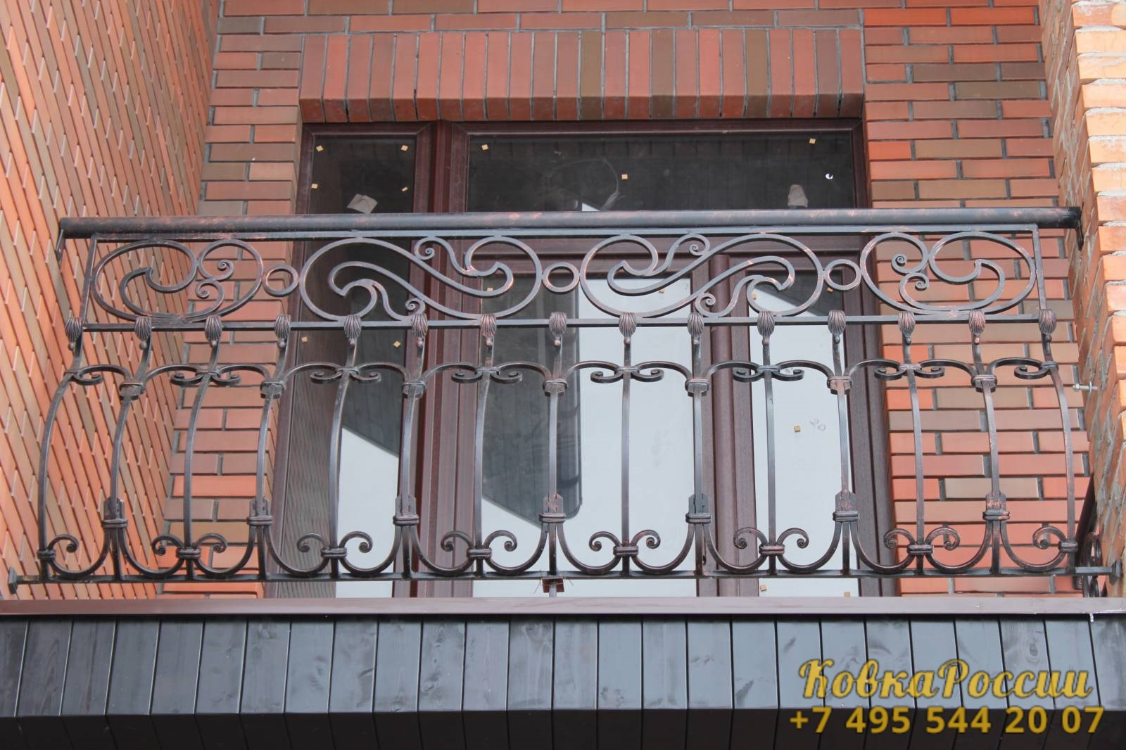 кованые балконы 036