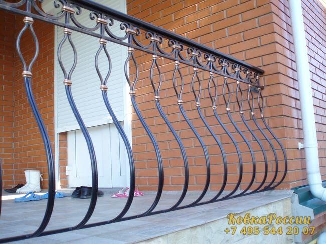 кованые балконы 031