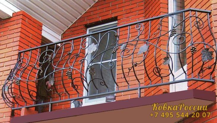 кованые балконы 029