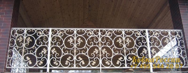кованые балконы 030