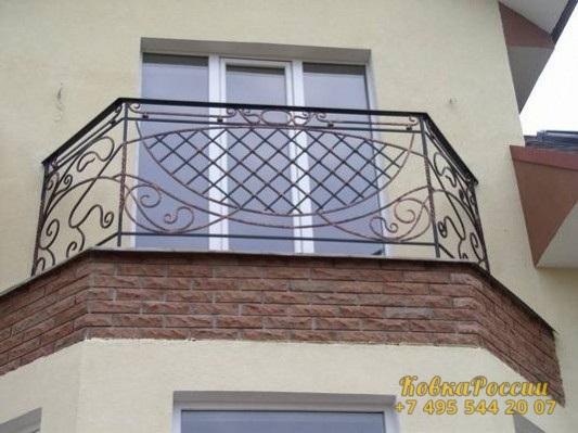 кованые балконы 024
