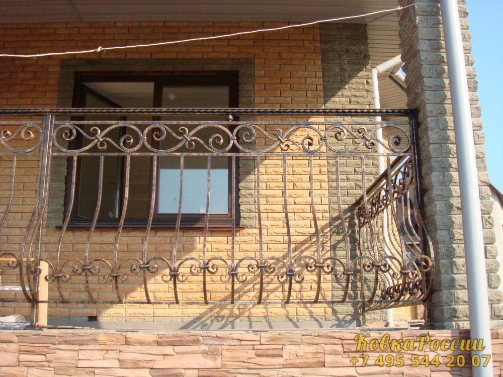 кованые балконы 023