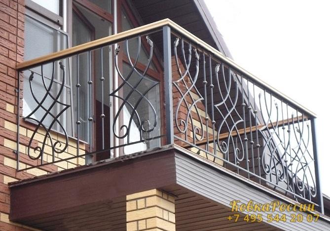 кованые балконы 022