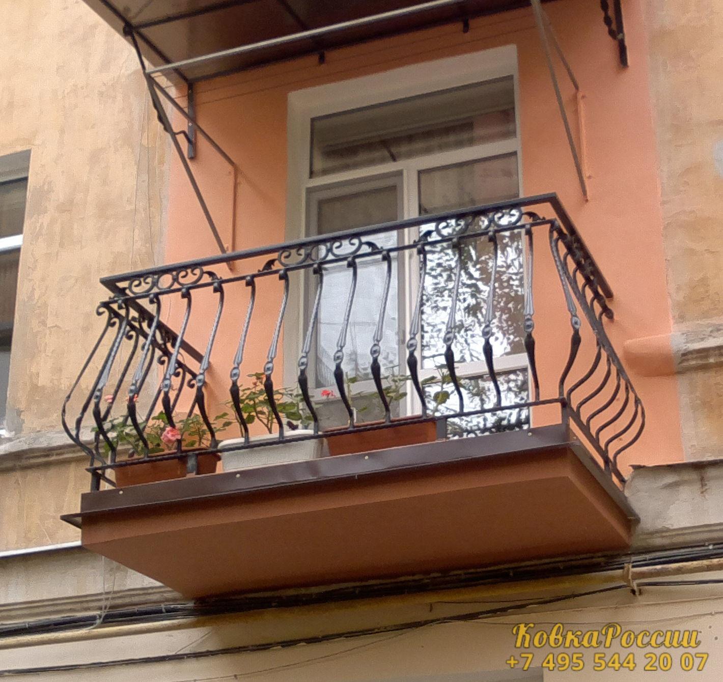 кованые балконы 018
