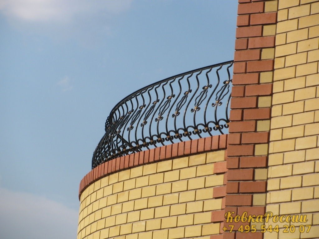 кованые балконы 017