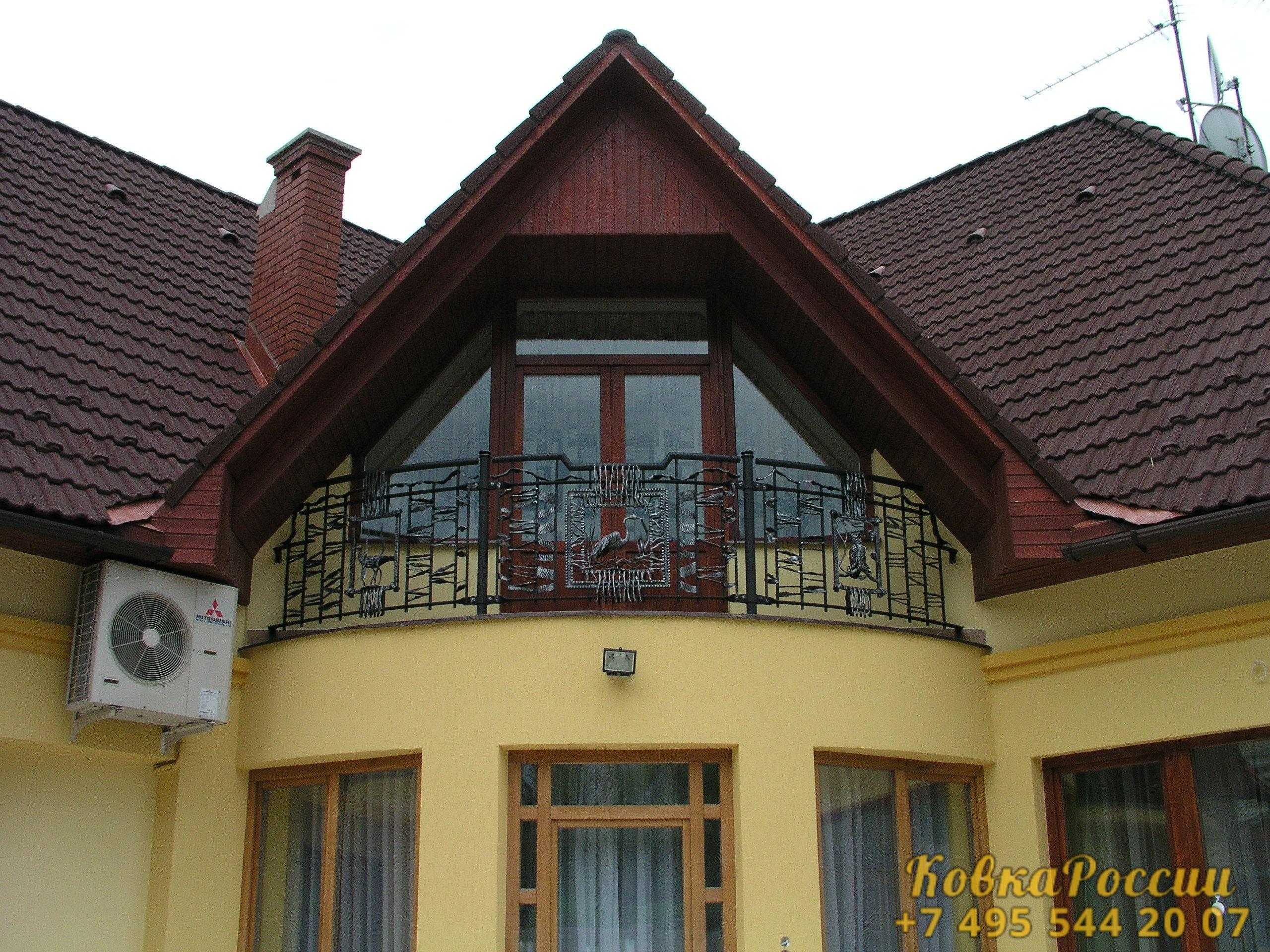 кованые балконы 016