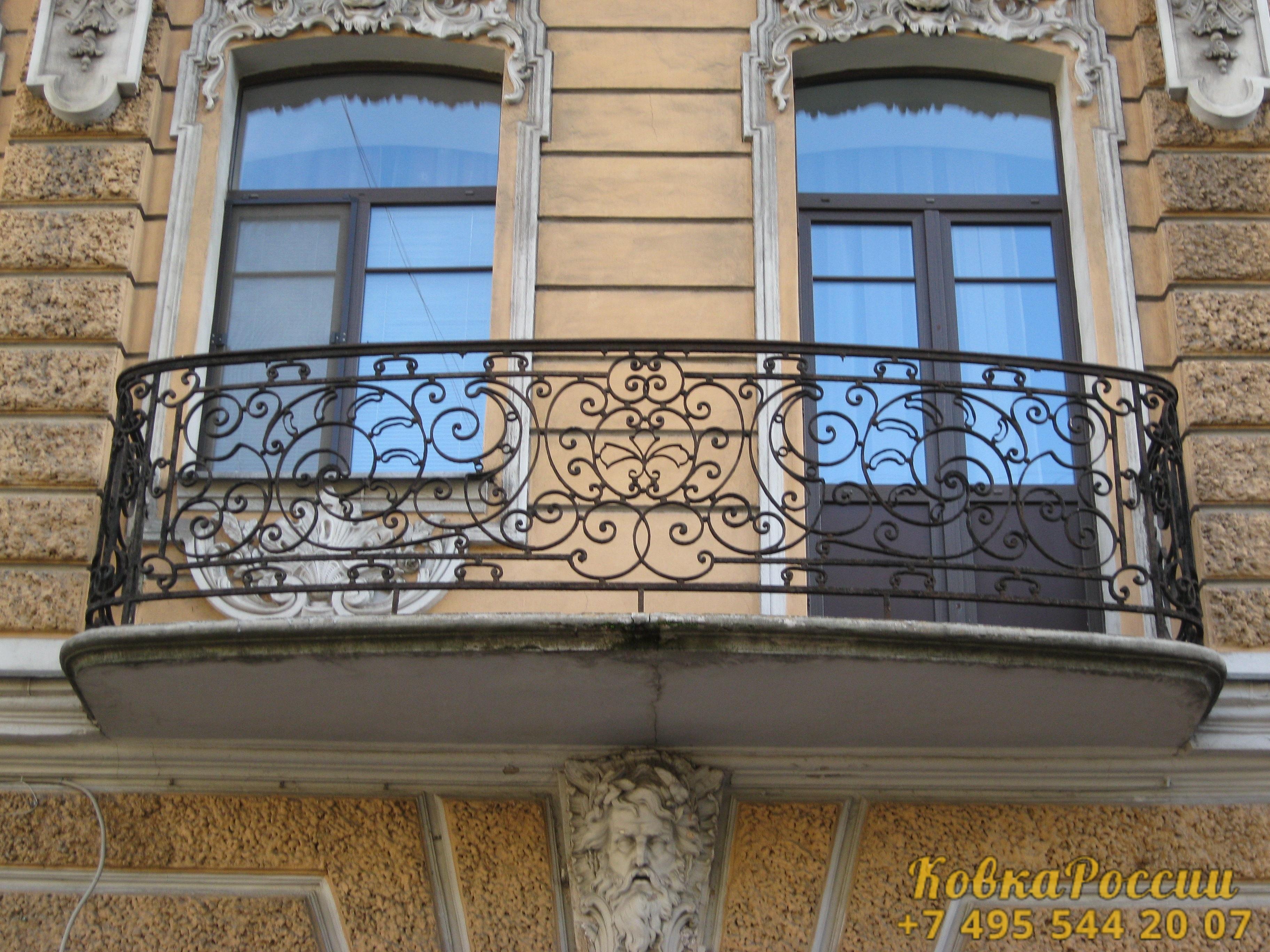 кованые балконы 014