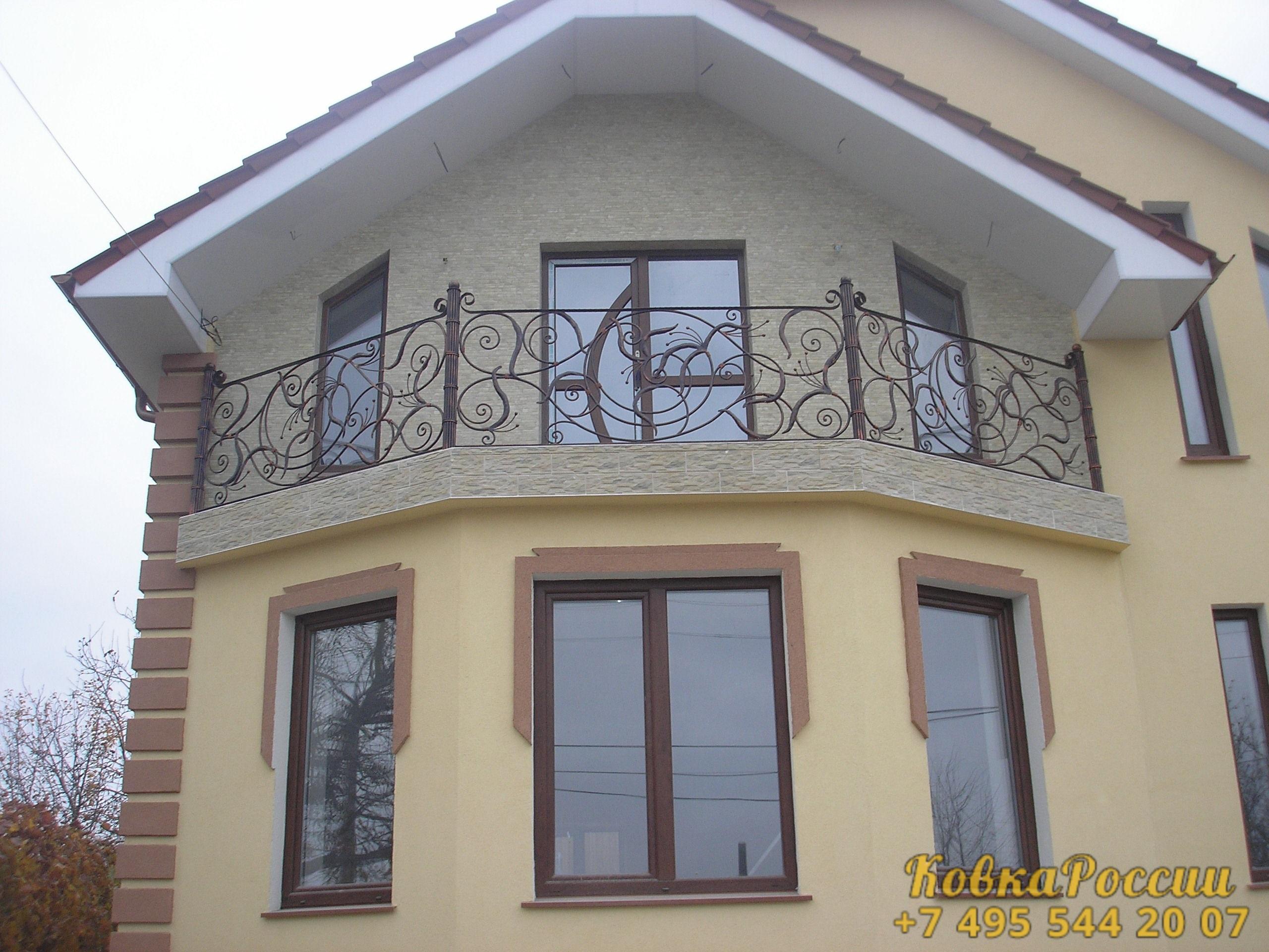 кованые балконы 013