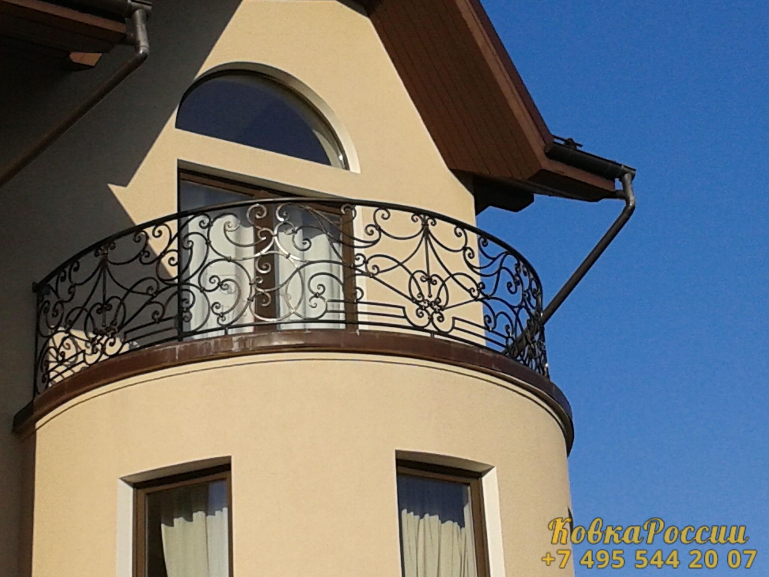 кованые балконы 012