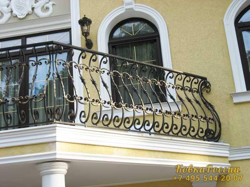 кованые балконы 011