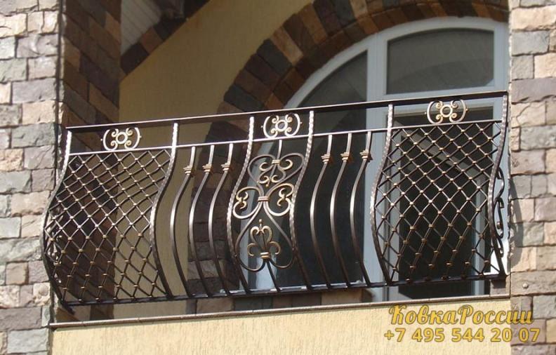 кованые балконы 009