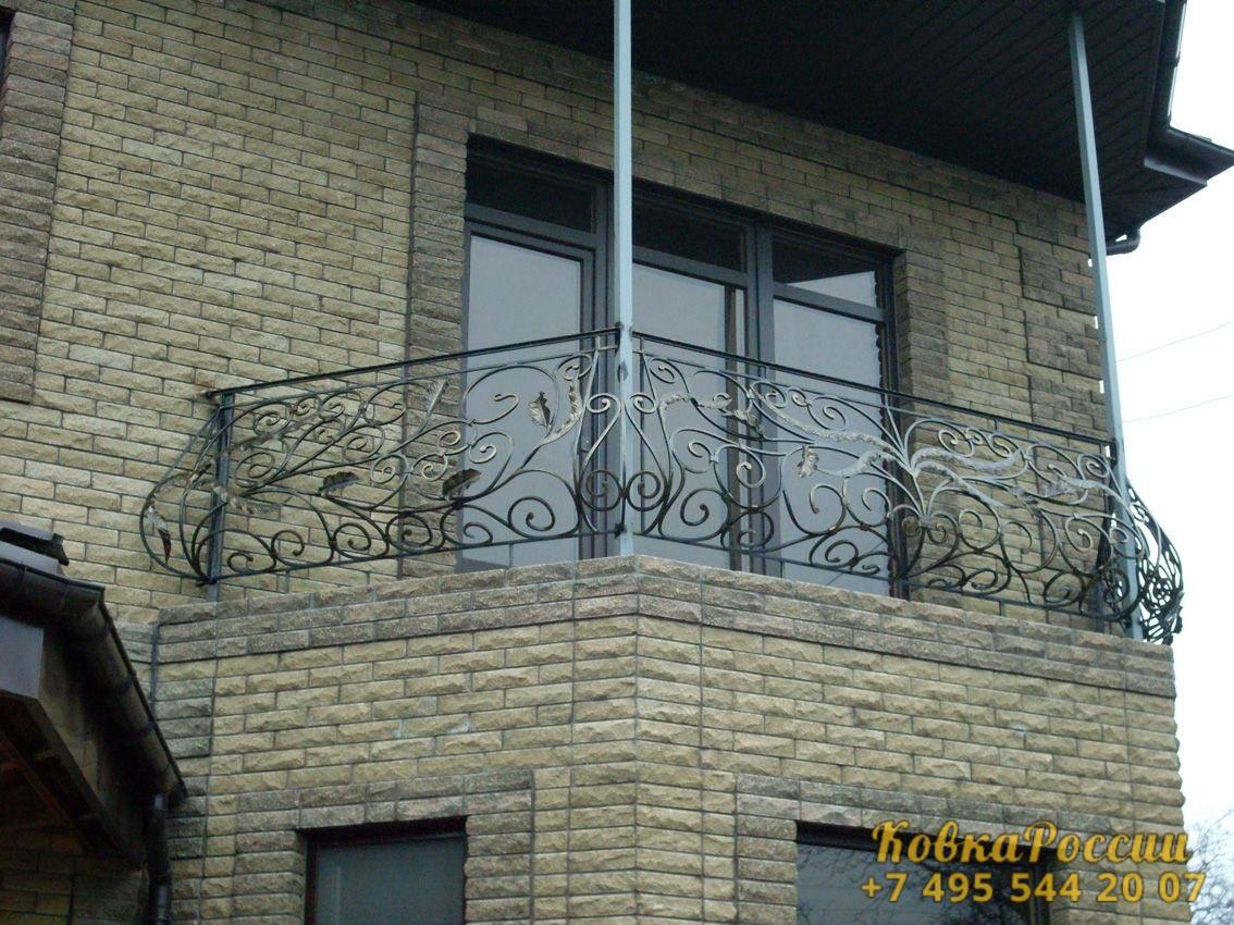 кованые балконы 010