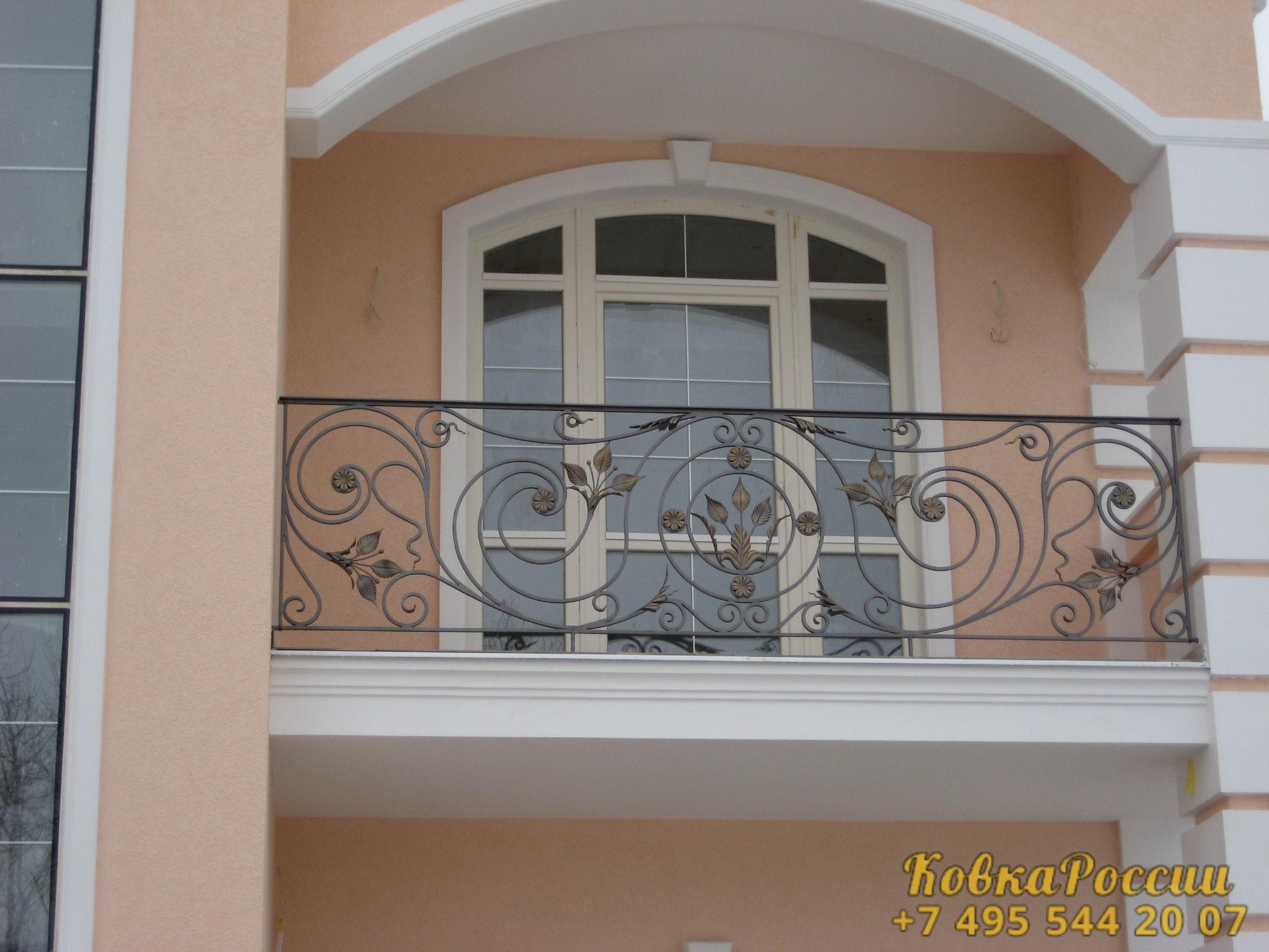 кованые балконы 008