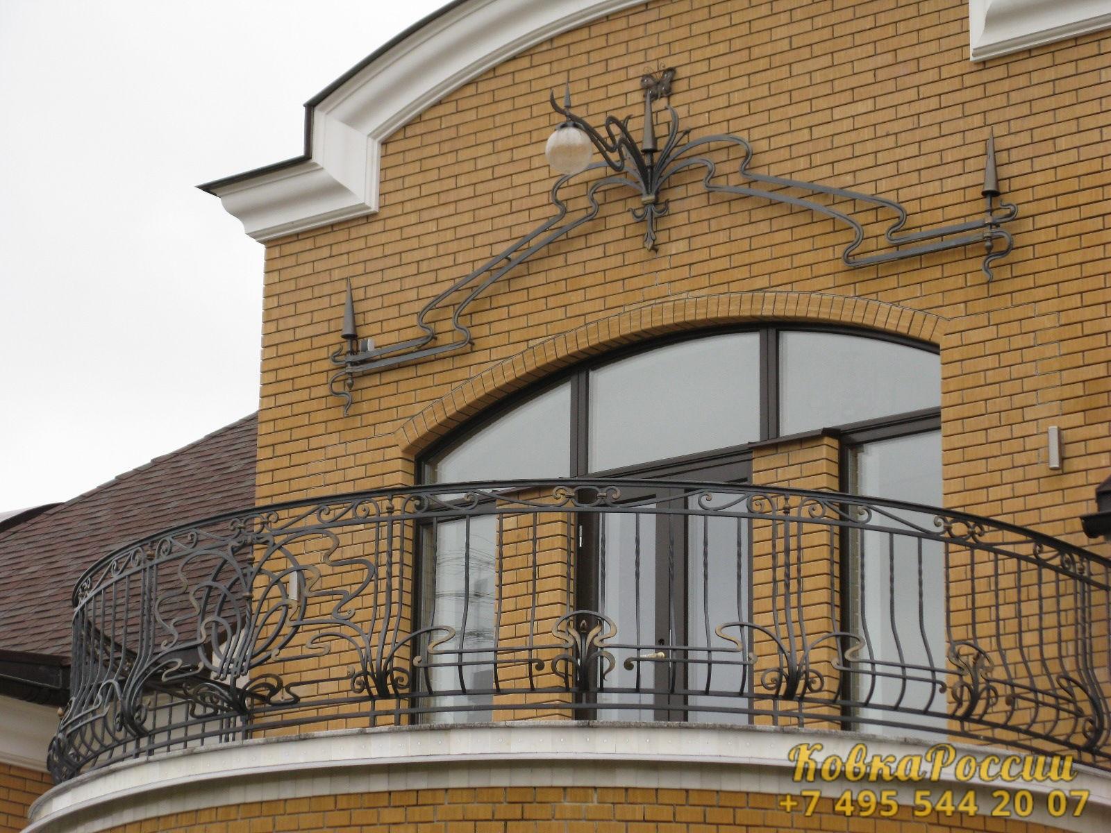 кованые балконы 006