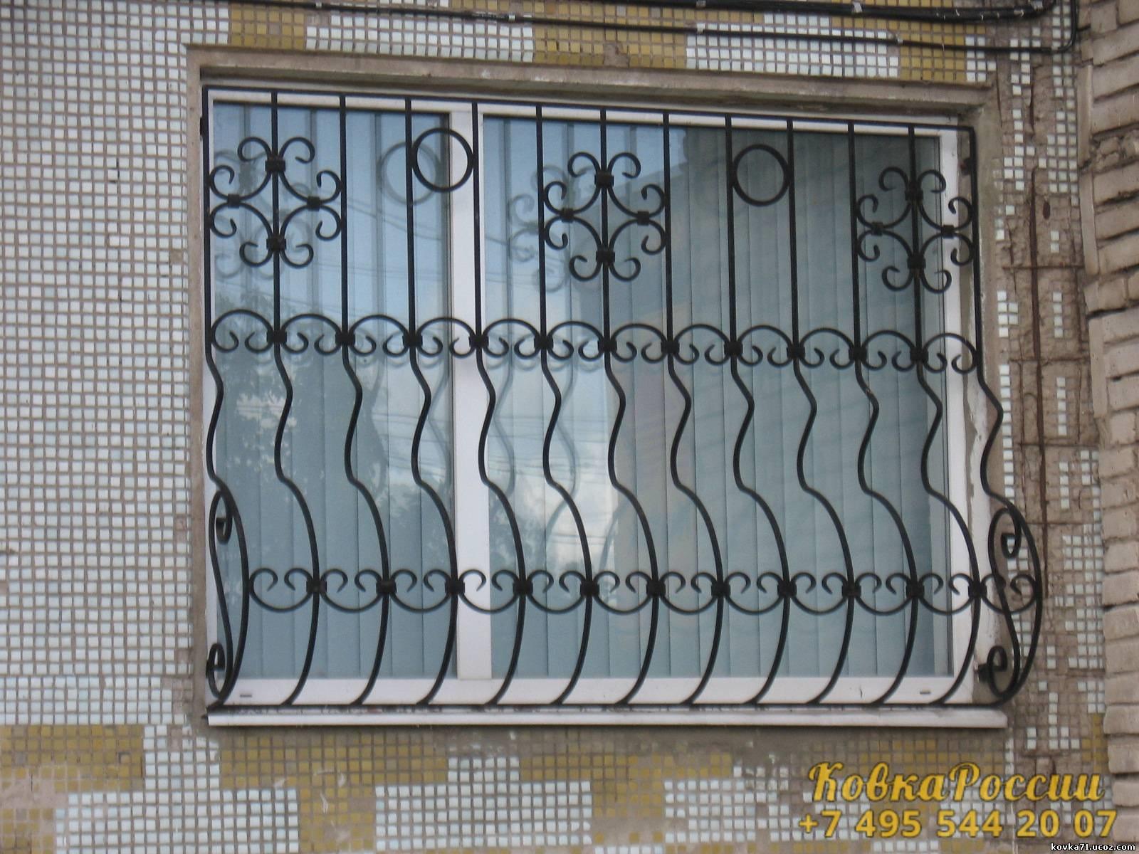 кованые решетки 069