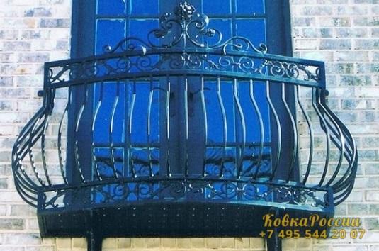 кованые балконы 004