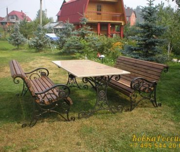 Кованная мебель 08