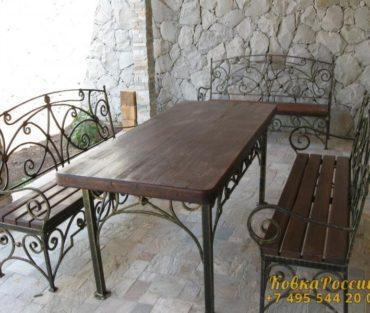 Кованная мебель 011