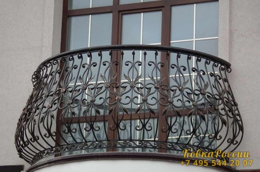 кованые балконы 044