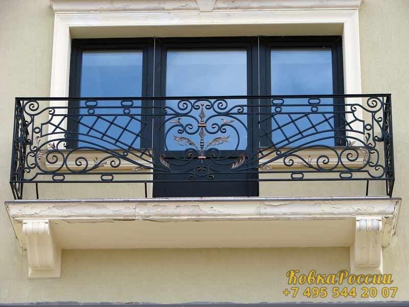 кованые балконы 043