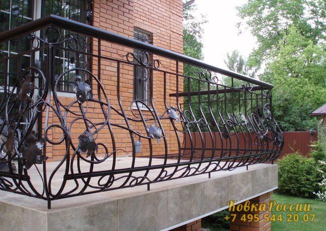 кованые балконы 041