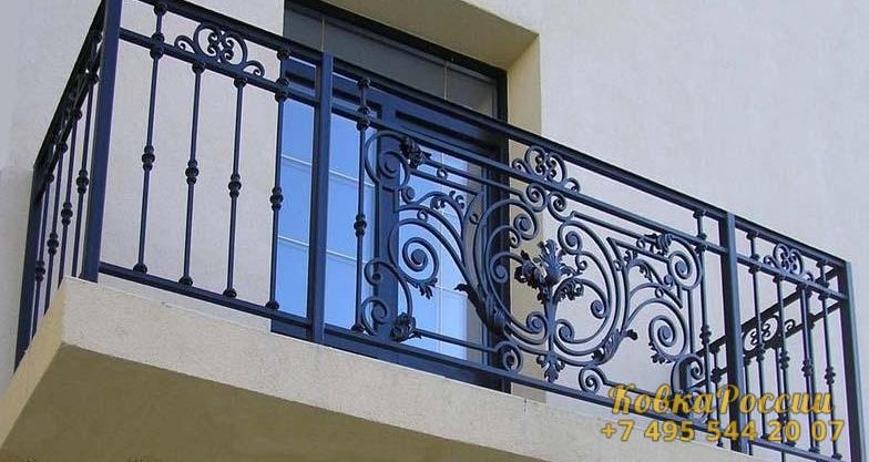 кованые балконы 040