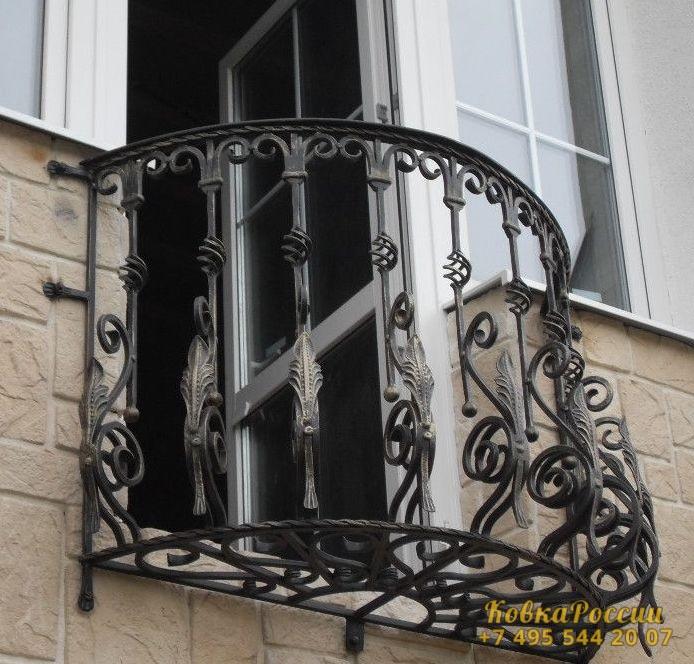 кованые балконы 045